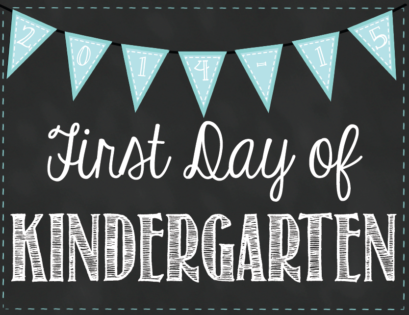 http://www.teacherspayteachers.com/Product/First-Day-of-School-Chalkboard-Signs-1395806