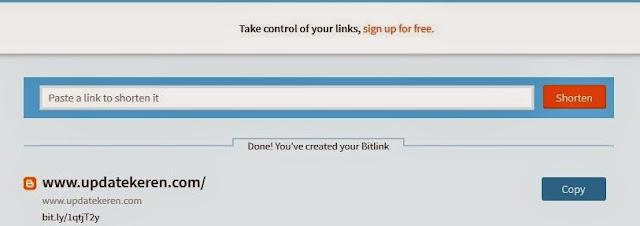 daftar situs pemendek url