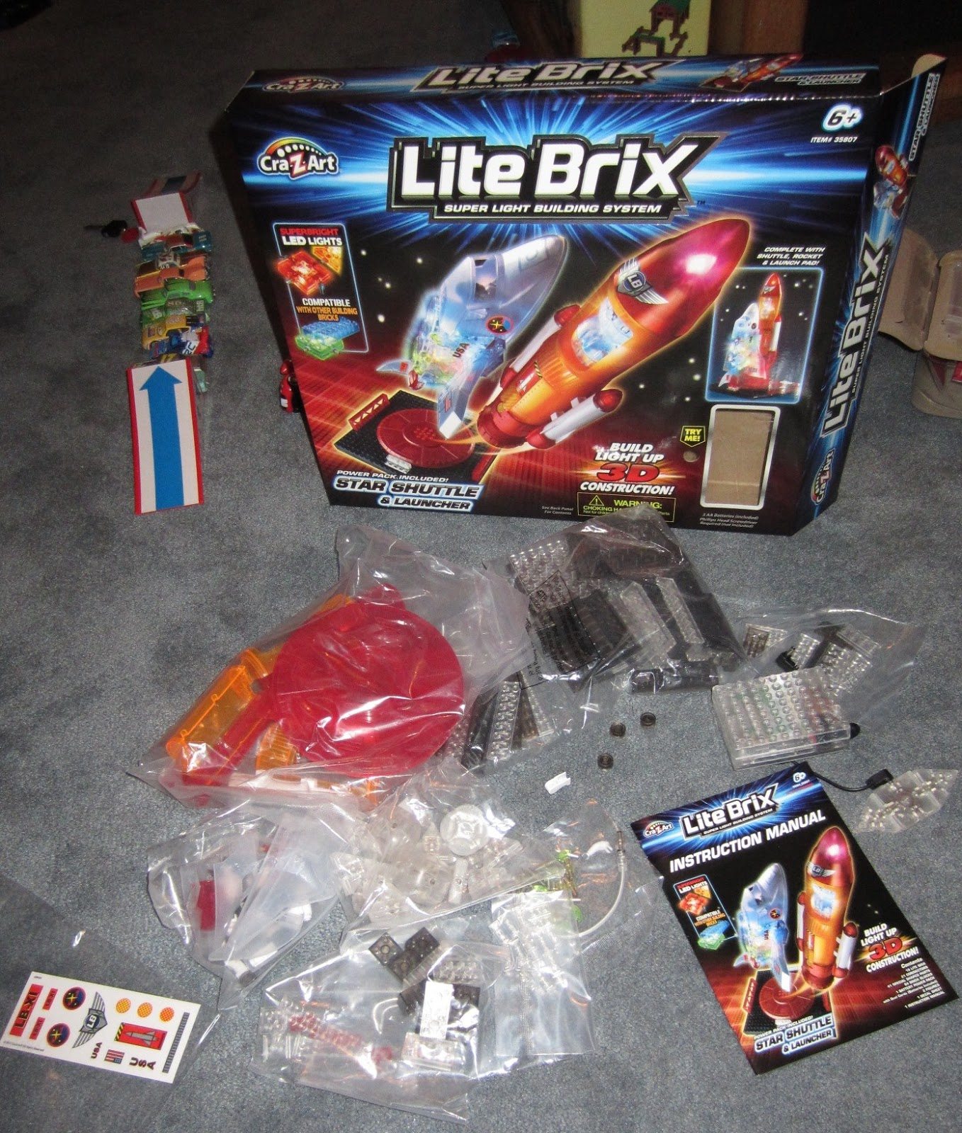 Evan and Lauren\'s Cool Blog: 10/28/12: Cra-Z-Art Lite Brix Star ...