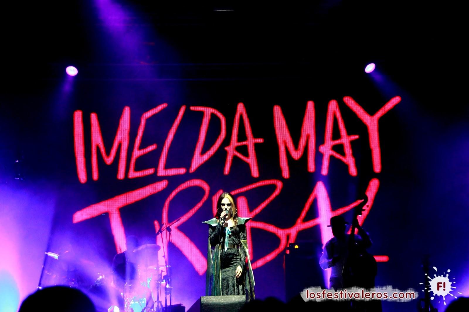 Imelda May, BIME, 2014, Halloween, Concierto, Festival