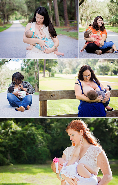 Florida Breastfeeding Photography