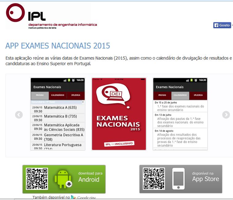 http://www.dei.estg.ipleiria.pt/apps/exames-nacionais/