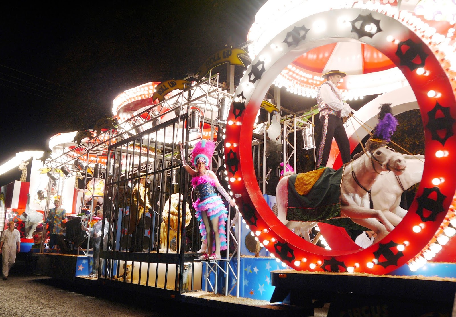 Somerset Carnival Season 2014 - Pentathlon Carnival Club with 'Roll Up, Roll Up'