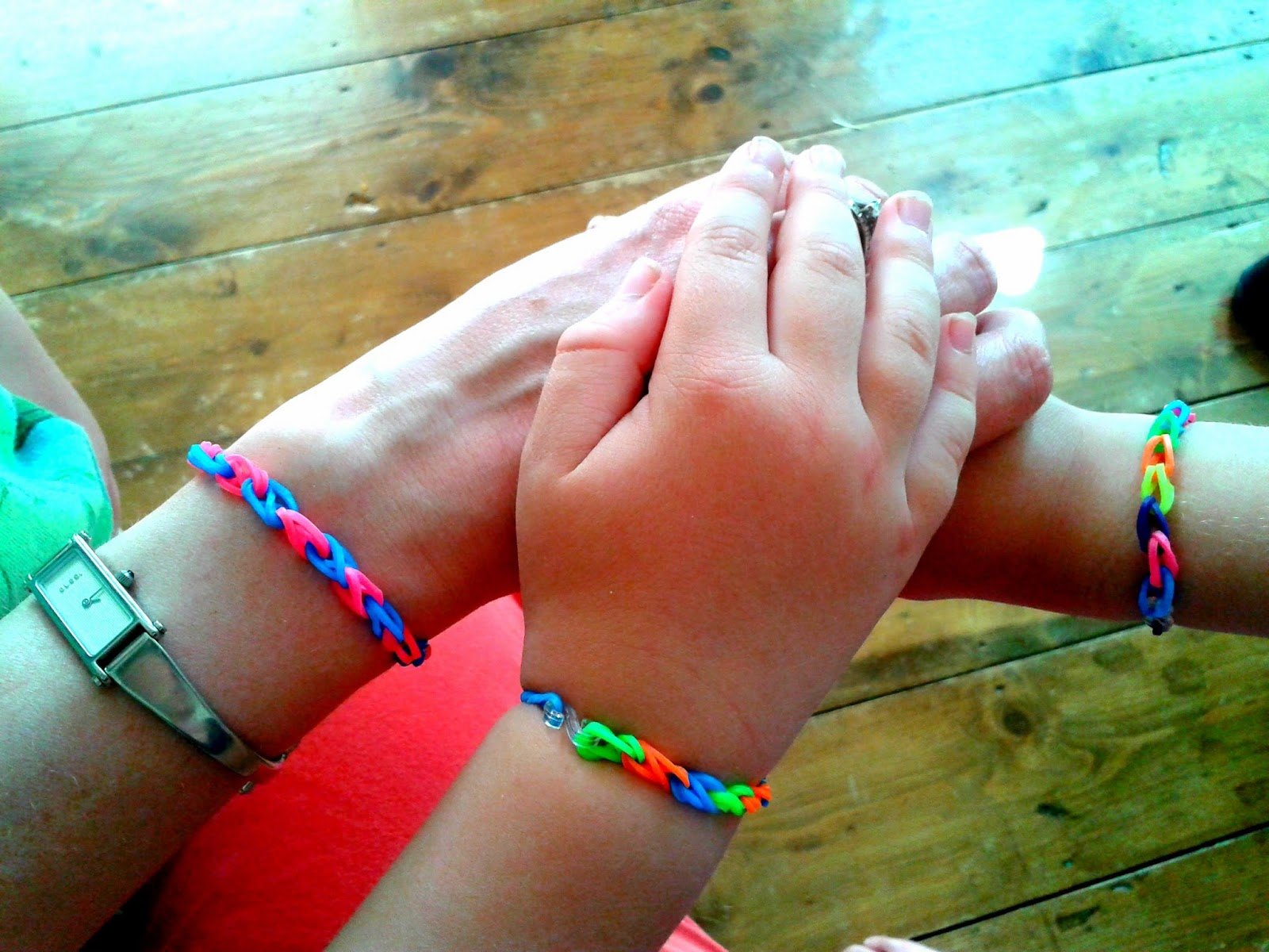 Project 365 day 137 - Loom bands bracelets // 76sunflowers