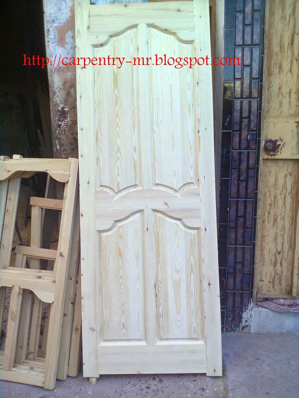 Placard Chambre A Coucher Marocain : Porte bois marocain نجارة مغربية