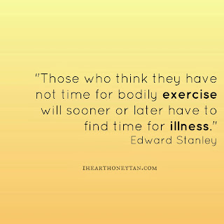 Fitness motivational quote Edward Stanley
