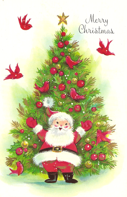 powerofbabel nanny u0027s christmas cards santa claus