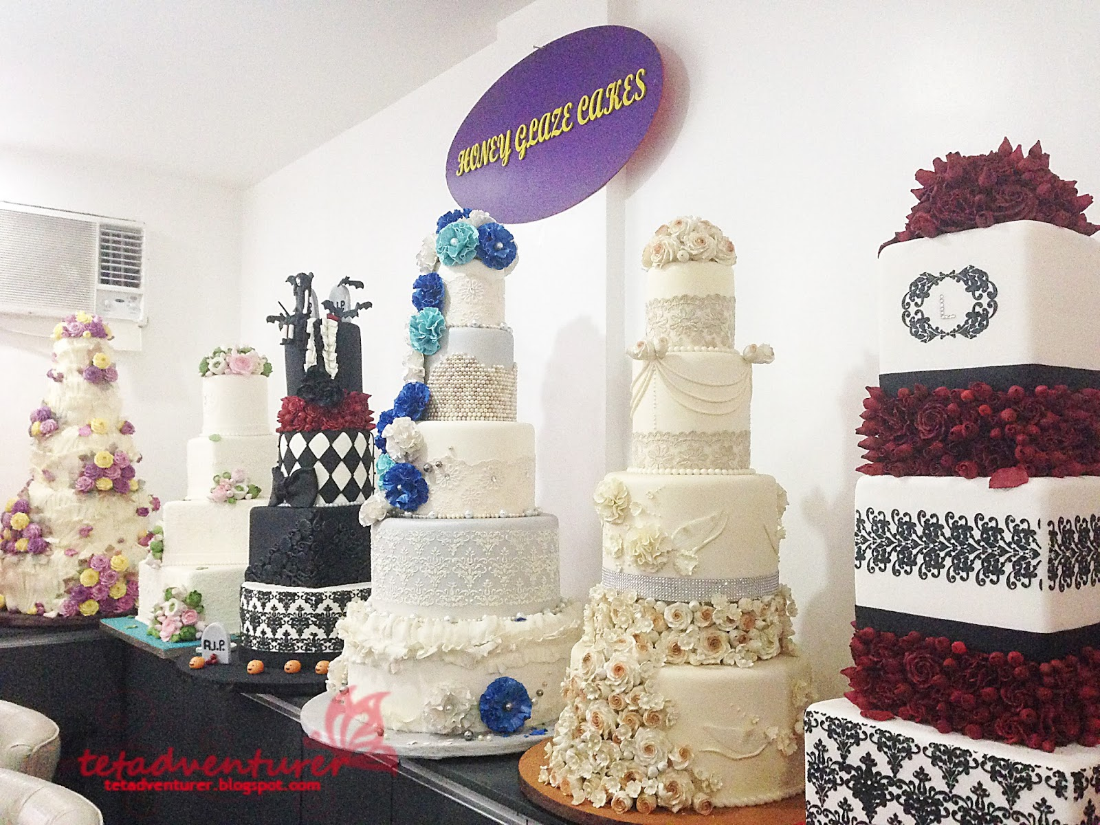 tetadventurer: wedding 101: cake tasting @ honey glaze cakes!