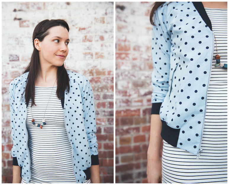 Sophie&39s Rigel Bomber | The Papercut Collective | Bloglovin&39