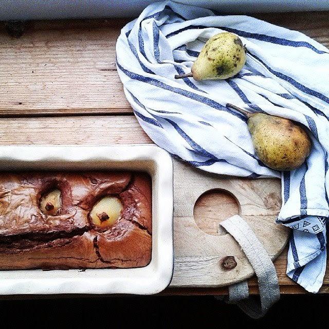Gâteau chocolat-poire / Photo Atelier rue verte /