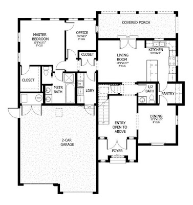 Complete Plan Villa Idea