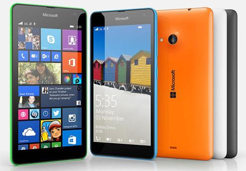 Spesifikasi dan Harga Microsoft Lumia 535 Dual Sim