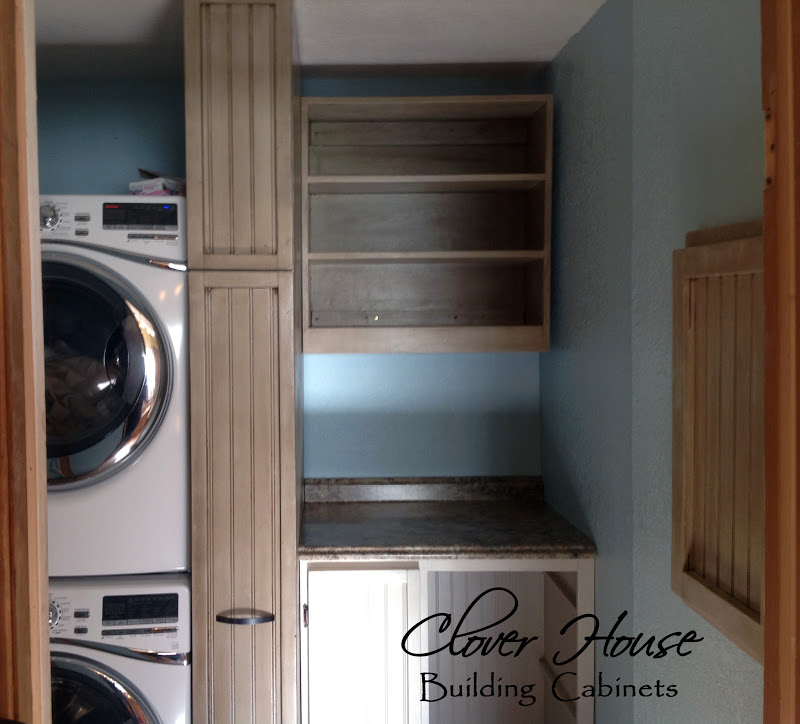 Clover House: Part 3: Building the Cabinets of our Laundry Room