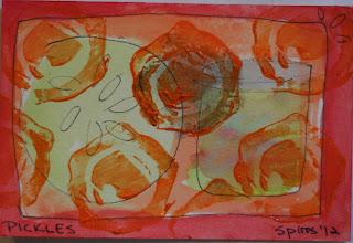 MMSA Kitchen postcard swap