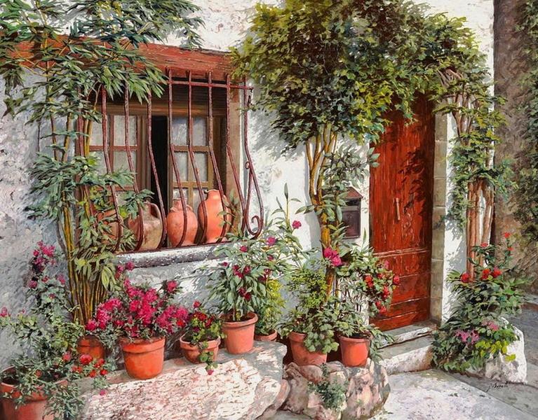 Pintura moderna y fotograf a art stica cuadros de - Pinturas de fachadas ...