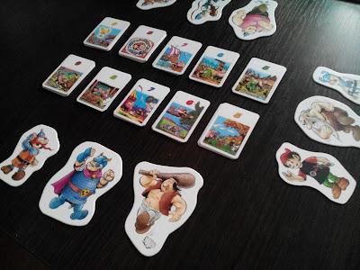 gra rodzinna, gra karciana, dla dzieci, Kajko i Kokosz, Egmont