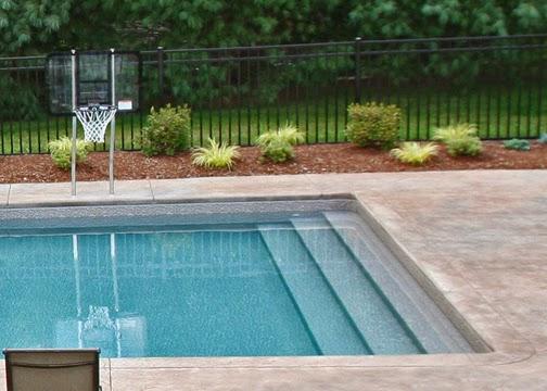 Vinyl Liner Inground Pools Step Options General Swimming Pool Information