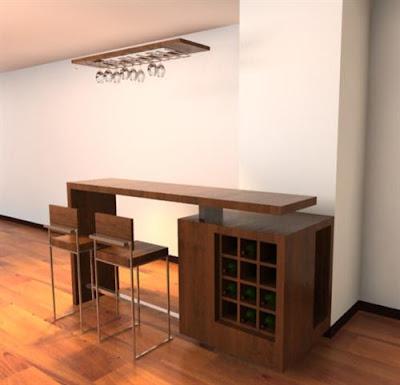 Decoraci n minimalista y contempor nea muebles modernos - Esquineras de pared ...