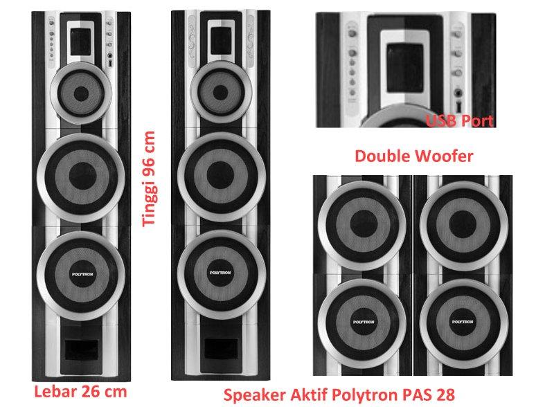 Info Harga Speaker Aktif Polytron PAS 28 on samsung speaker, x-mini speaker, altec lansing speaker, antec speaker, hewlett-packard speaker, grace digital speaker, motorola speaker, huawei speaker,