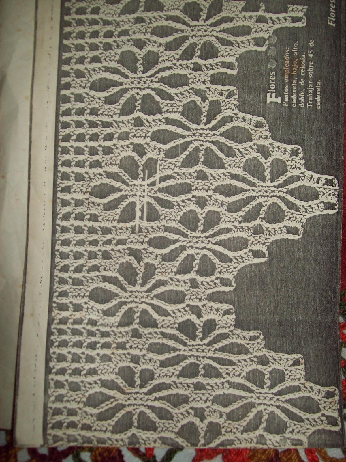 Puntos y Retazos: toalla con puntilla crochet