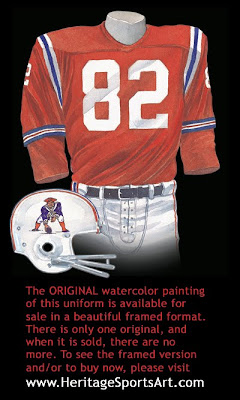 Boston Patriots 1964 uniform - New England Patriots 1964 uniform