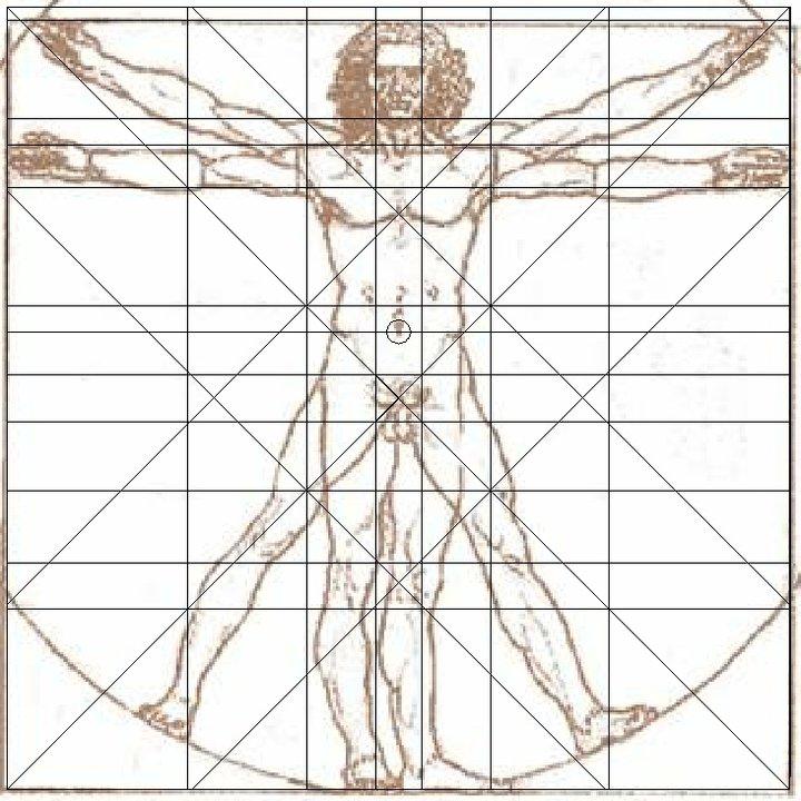 Facultad de Arquitectura C.U.: El Hombre de Vitruvio