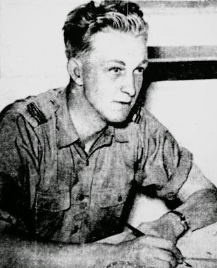 (C/805) George Abner Hiltz - Air Force Cross