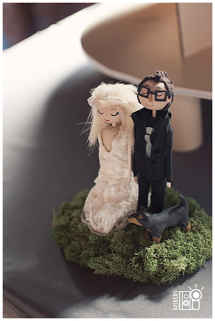 Nashville Wedding Cake Topper