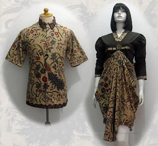 PO A41 MODEL BAJU BATIK WANITA MODERN