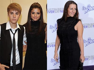 Justin Bieber's Mom and Selena Gomez