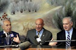 Peres, Milchan, Netanyahu