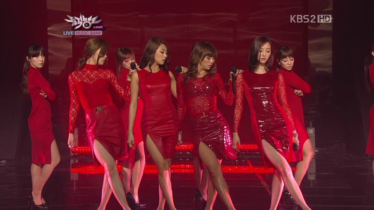 [Perf] SISTAR   Alone @ KBS Music Bank 120413