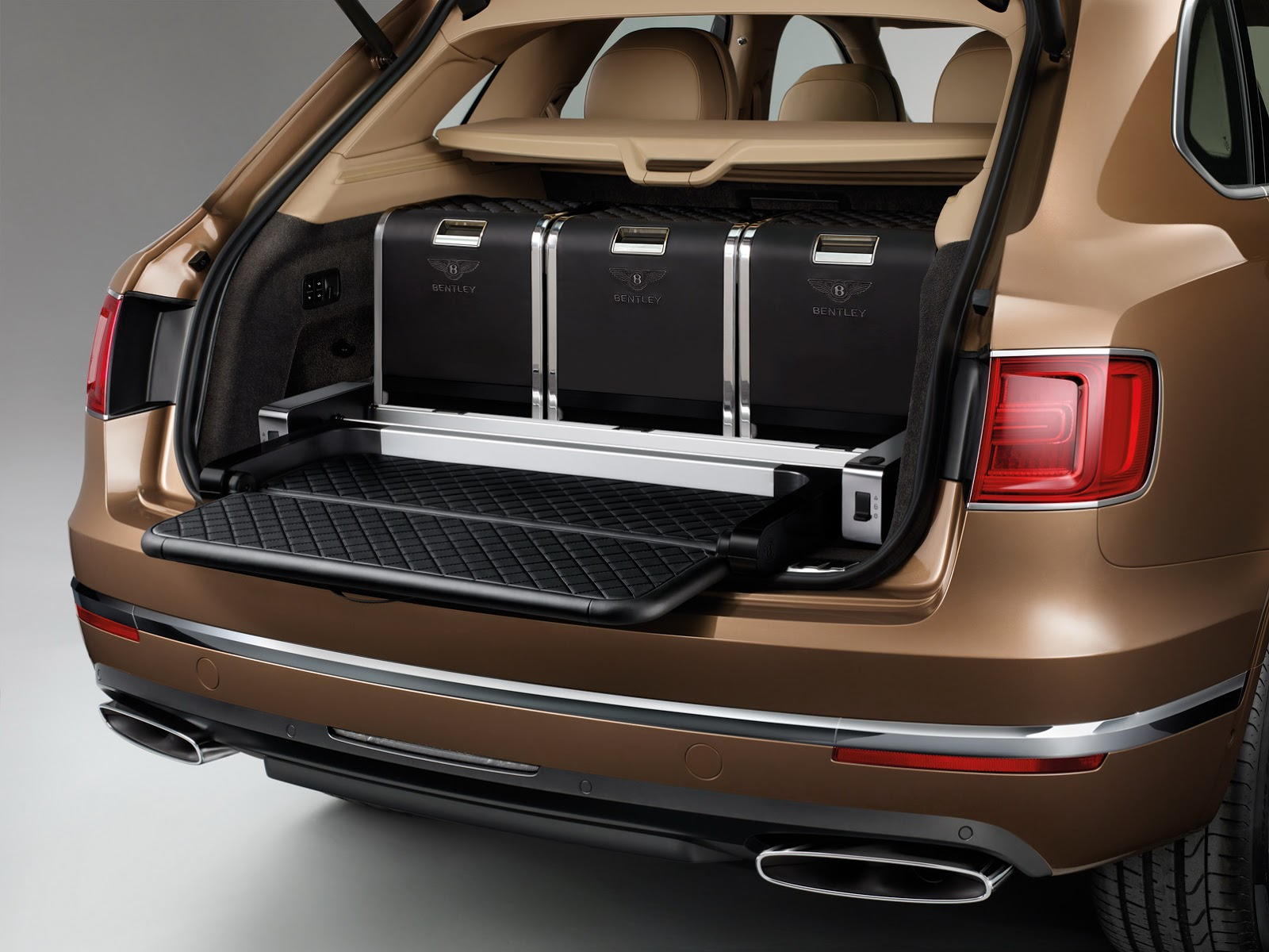 New Bentley Bentayga Suv Officially Revealed In 37 Pics