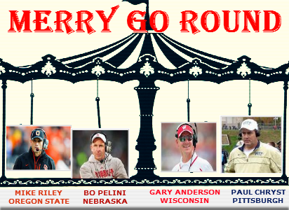 college football coaches on a merry go round