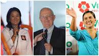 ONPE al 99,24%: Keiko Fujimori 39.81% PPK 21.00% y Verónika Mendoza 18.83% Estos resultados ya conf