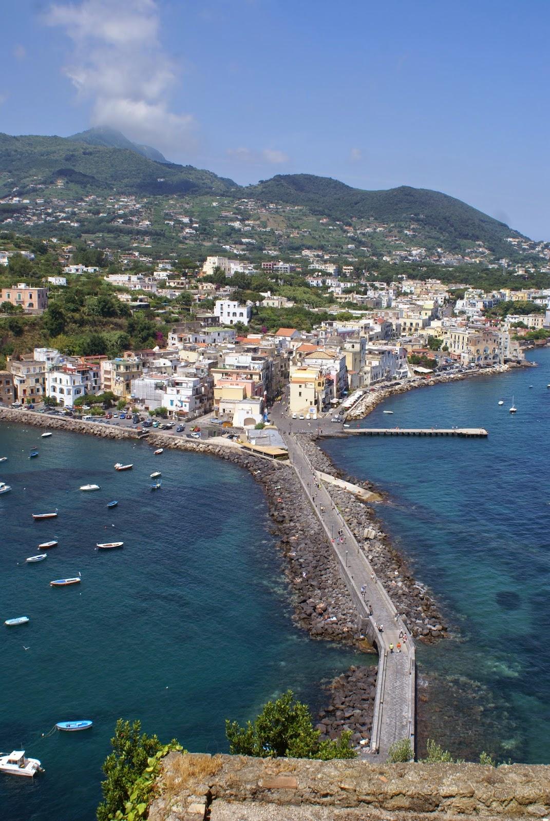 Italian island vacation