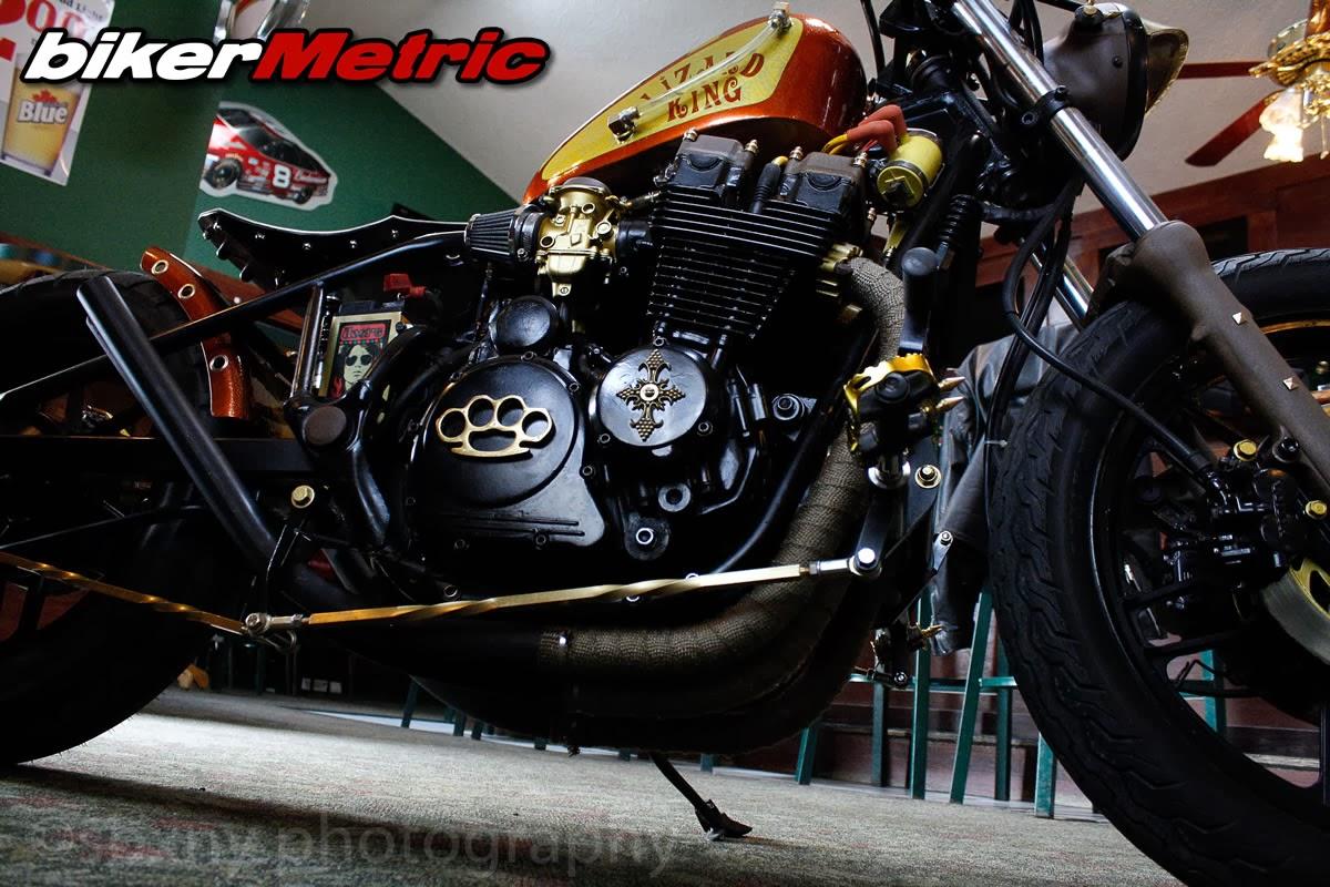 Honda CB650 SC Nighthawk Bobber