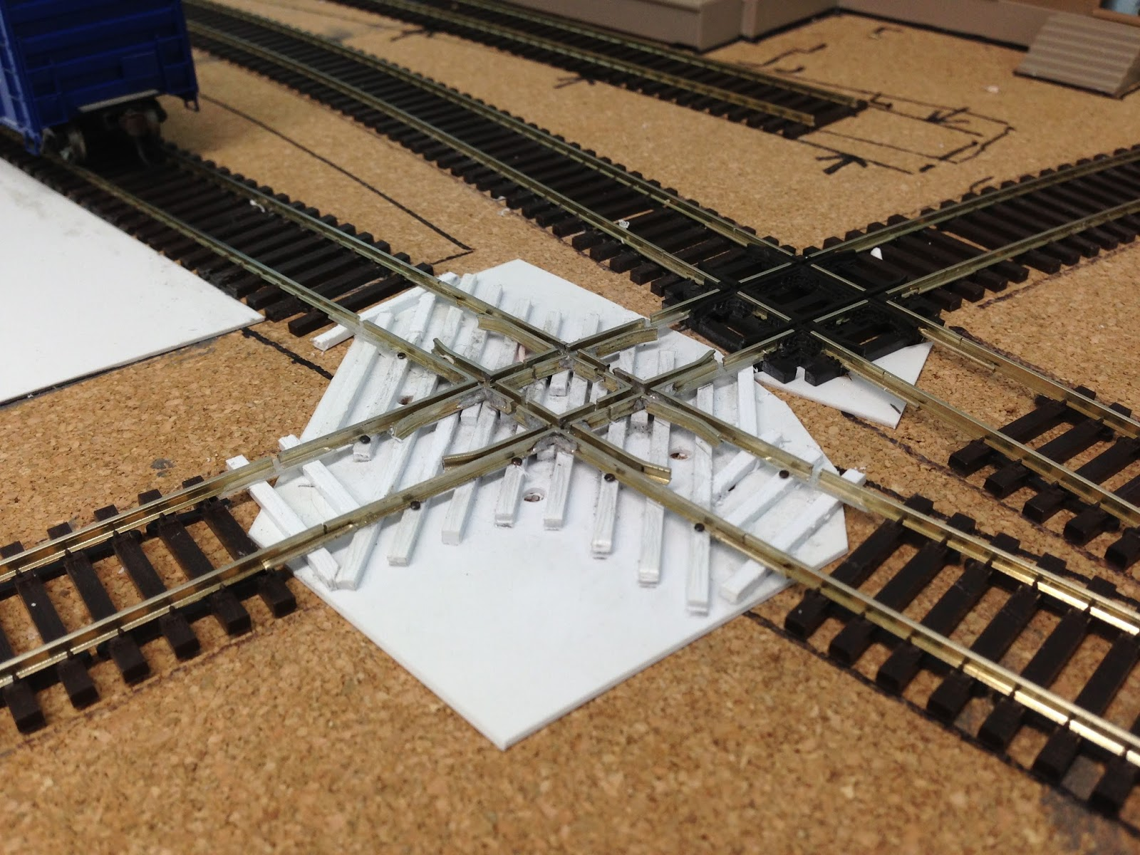 how to build railroad tracks