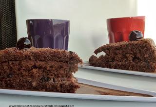taart chocolade kersen