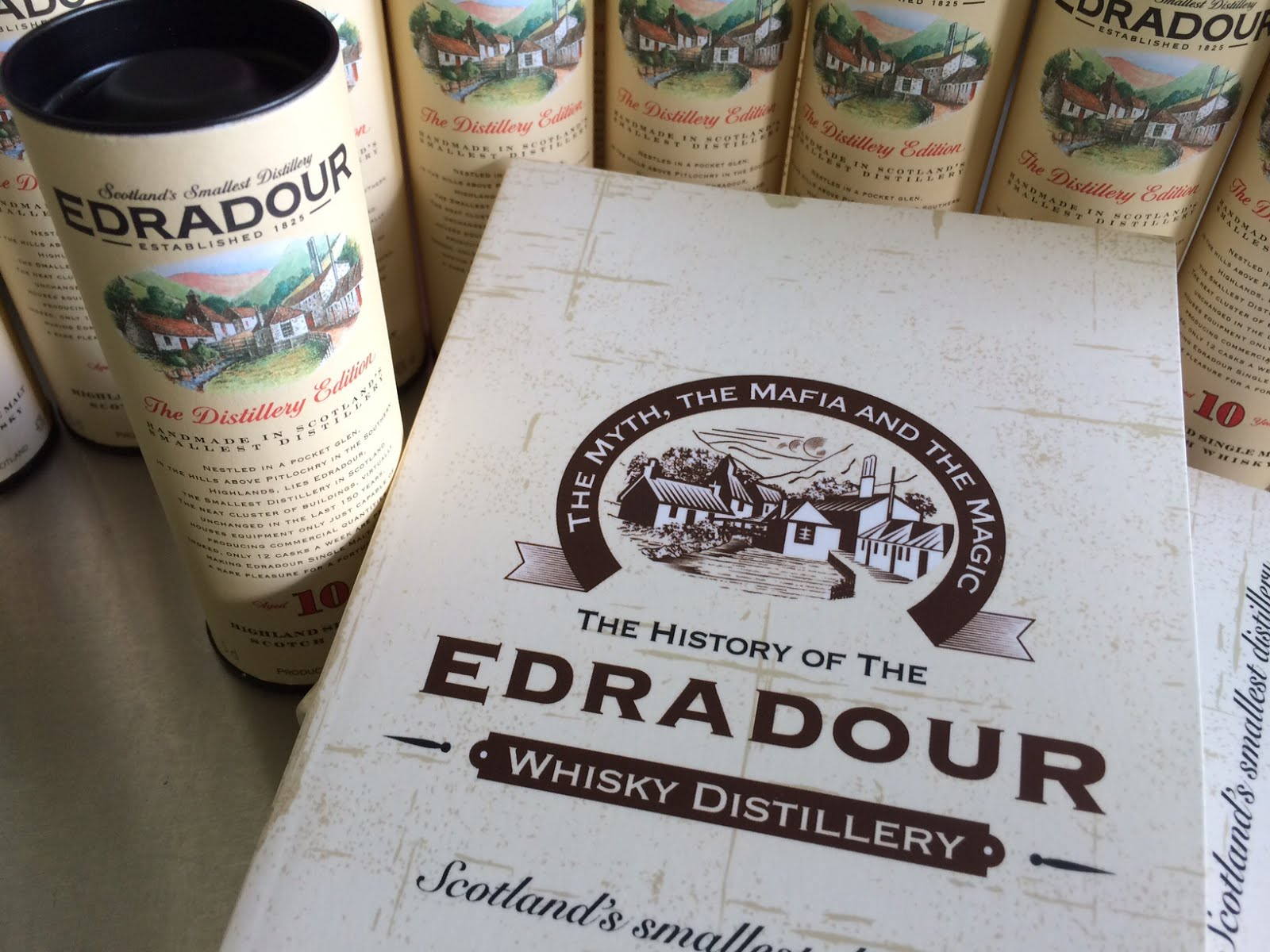 The history of Edradour Distillery