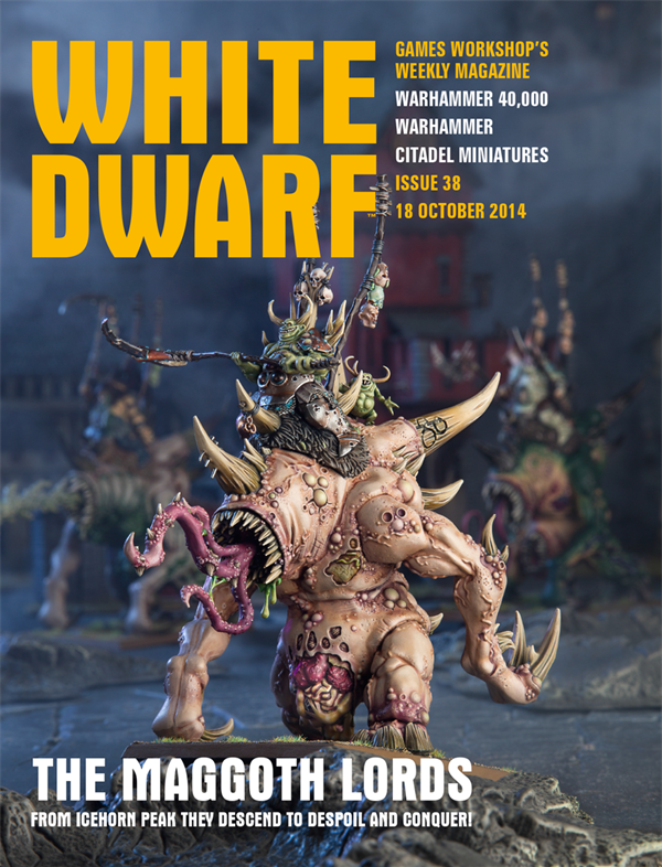 White Dwarf Weekly número 38 de octubre