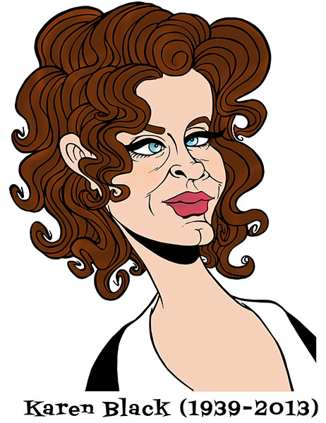 Karen Black by Sophie Cossette