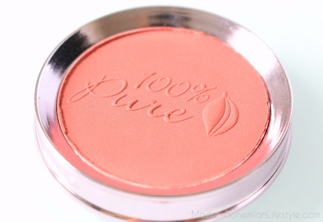 100% Pure Healthy Vegan Blush Review