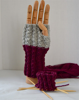 Giving thanks for fingerless gloves for sale at https://www.etsy.com/shop/JeannieGrayKnits