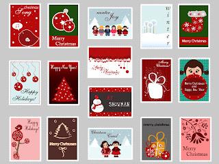 クリスマスをイメージした洗練されたスタンプ exquisite christmas ornaments stamp イラスト素材1