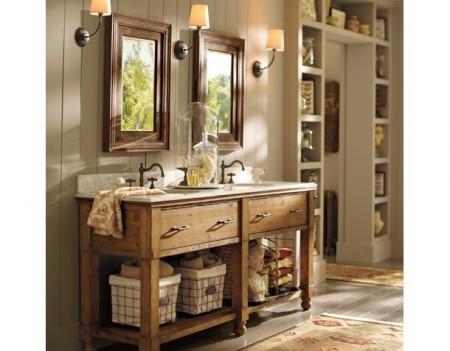 El blog del ba o tipos de muebles de ba o 1 2 for Muebles de bano de madera rusticos