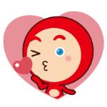 emoticones de peluche enamorado