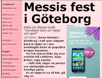 Swedish daily catches Barça players out on the town, Messi drunk