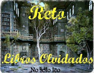 RETO LIBROS OLVIDADOS (2017)