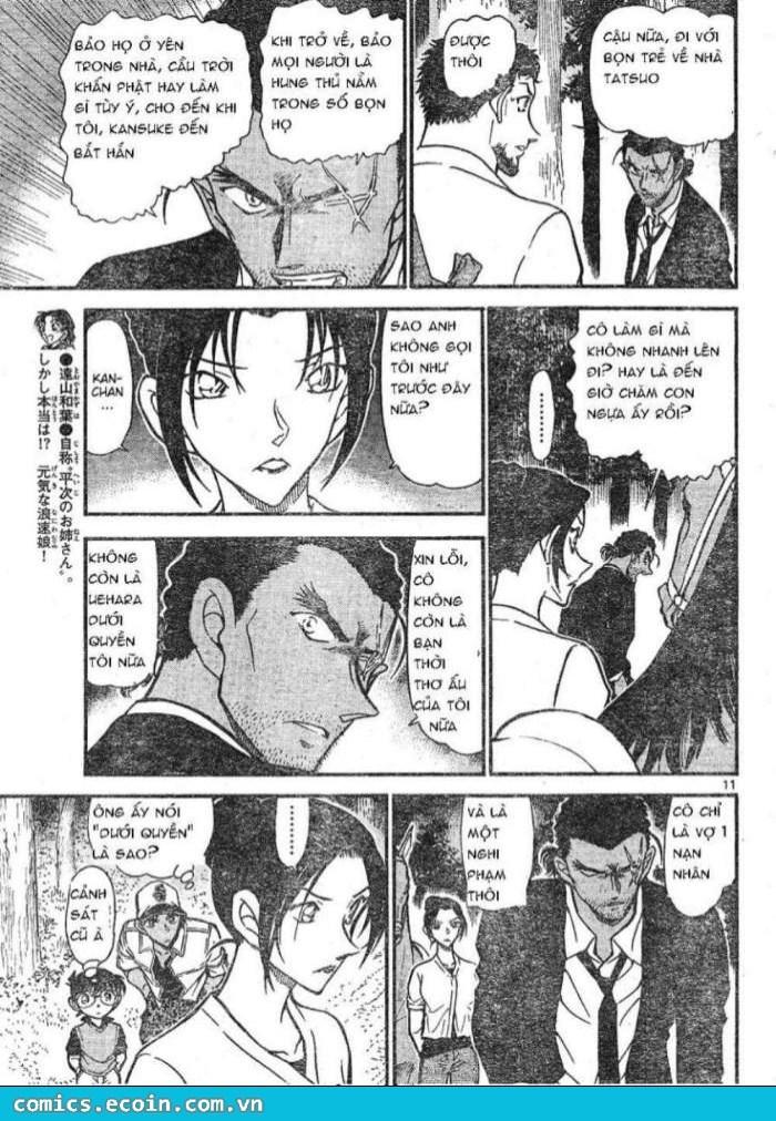 Detective Conan - Thám Tử Lừng Danh Conan chap 616 page 11 - IZTruyenTranh.com